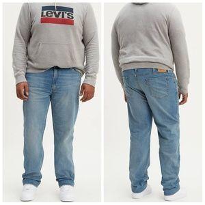LEVI'S 541 taper jeans light wash 38x30
